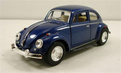 Kinsmart Volkswagen New Beetle Hitam kinsmart 1967 volkswagen vw classic beetle bug 1 32 scale 5 quot diecast blue k90 ebay