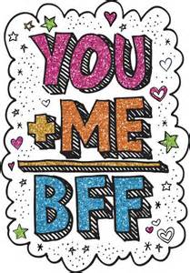 glitter you me bff scribbleshop com