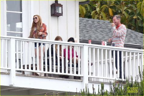 Lindsay Lohan Disrupts Rehab Facility by Lindsay Lohan Rehab Center Bonding With Friends Photo