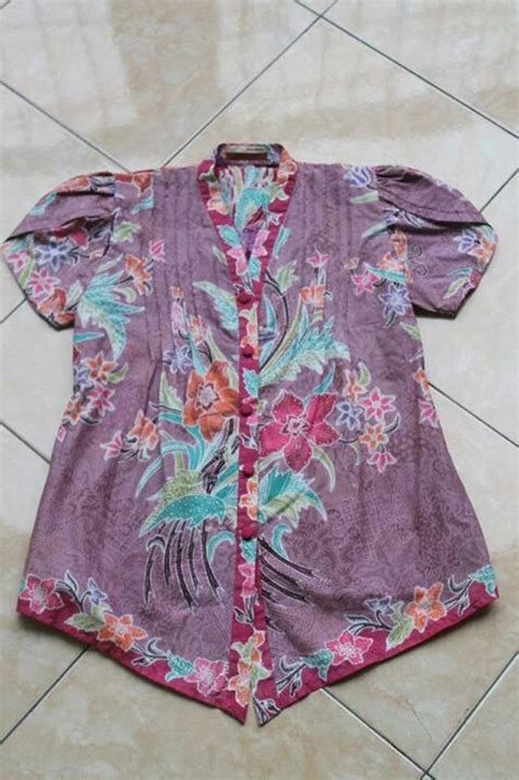 Baju Blouse Batik 168 best baju kurung images on baju kurung fashion and kebaya brokat