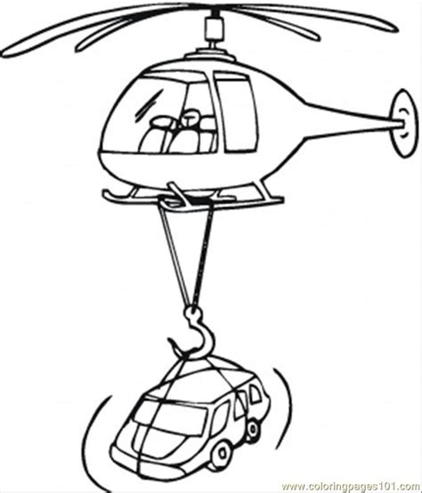 coloring pages rescue vehicles rescue helicopter clipart 25