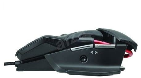 Dijamin Madcatz R A T 3 Black Gaming Mouse mad catz r a t 3 black gaming mouse alzashop