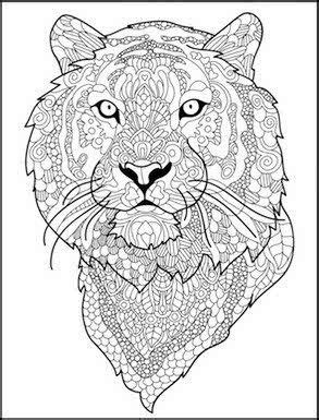 tiger mandala coloring pages 68 best coloring pages lions and tigers images on