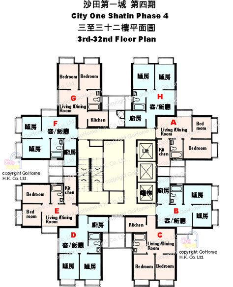 city floor plan floor plan of city one shatin gohome com hk