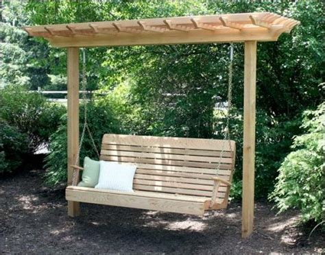 plans a pergola swing pdf woodworking