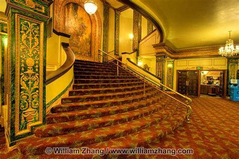 neoclassical interior lobby at grand lake theater oakland ca