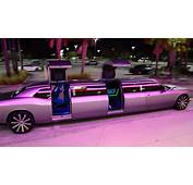 New Dodge Challenger Limo Clean Ride Drive By