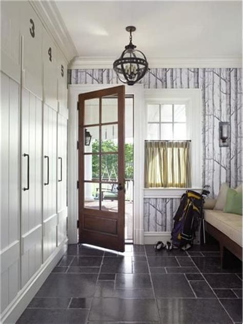 cool wallpaper entryway bring the outdoors in with forest wallpaper in the foyer