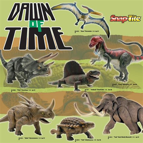 libro primeval and other times aurora prehistoric scenes models revell 2007