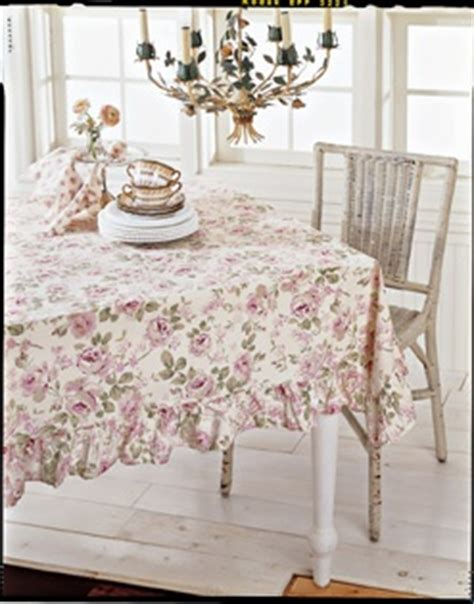 archived image of the simply shabby chic rosalie tablecloth home decor pinterest