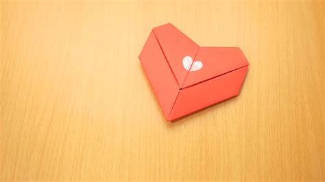 How To Make A Paper B - c 243 mo hacer un coraz 243 n de origami 15 pasos con fotos