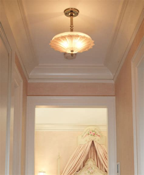 Hallway Pendant Light Vintage Hallway Pendant Traditional Ceiling Lighting Chicago By Brass Light Gallery