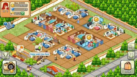 download game happy hotel story mod hotel story resort simulation unlimited diamonds mod apk