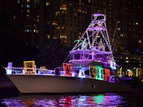 fort lauderdale christmas boat show 2017 top 10 must visit christmas towns in florida tripstodiscover