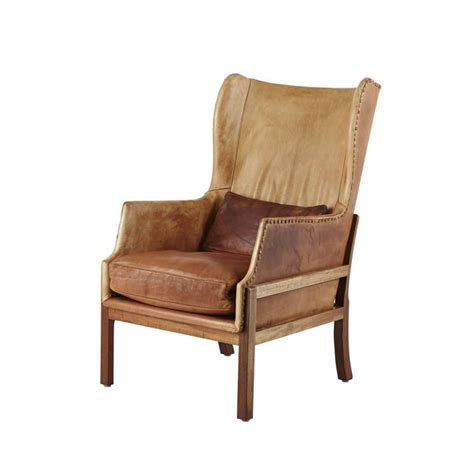 wingback chair ottoman mogens koch mk 50 wingback chair and ottoman at 1stdibs