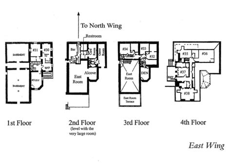 east wing floor plan the arden house