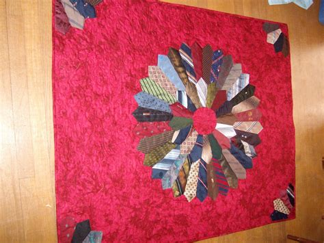 Quilts Made From Neckties by Quiltingtricia Tie Quilts Quilt Made From Neckties