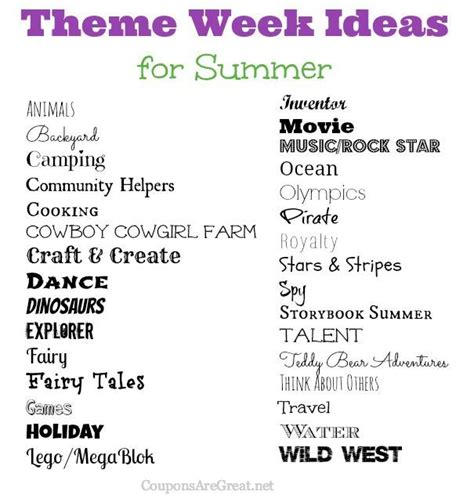 4 Great Posts With Summer In Mind by Frugal Summer Ideas Summer Theme Week Ideas Great