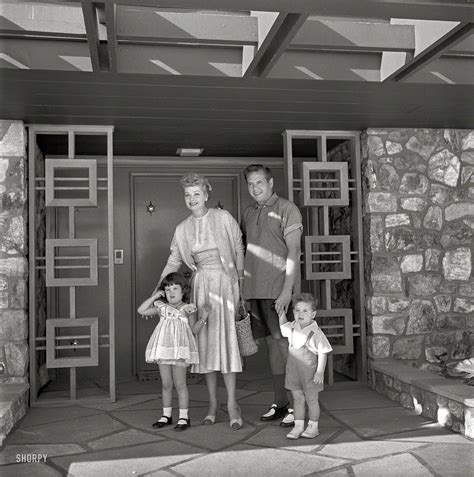 lucille and arnaz children 1954 quot lucille and husband arnaz with