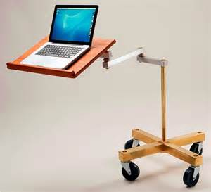 Desk For Laptops Cantilevered Laptop Desks The Awesomer