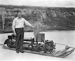 who invented the duvet inventor of snowmobile photograph by underwood archives