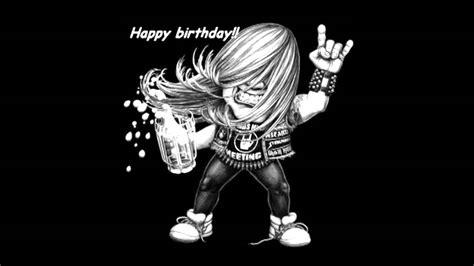 imagenes cumpleaños metalero cumplea 241 os feliz metal dravenmusik youtube