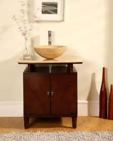 Modern Powder Room Vanities 29 Quot Modern Bathroom Vessel Sink Vanity Lavatory Powder