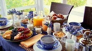 ina garten breakfast ina garten brunch on a blue and white tablescape start