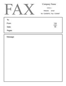 Template For Fax Cover Sheet by Free Fax Cover Letter Template