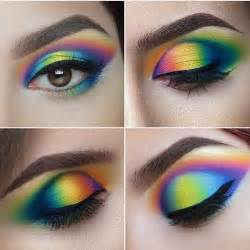 colorful eyeliner best 25 rainbow makeup ideas on rainbow eye