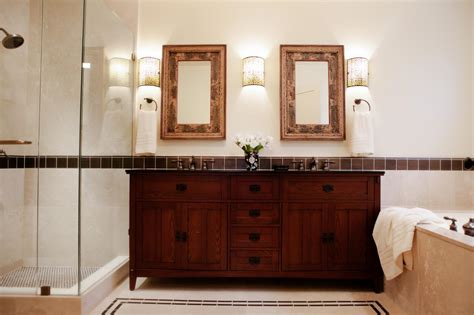 Arts And Crafts Bathroom Vanity Photos Hgtv