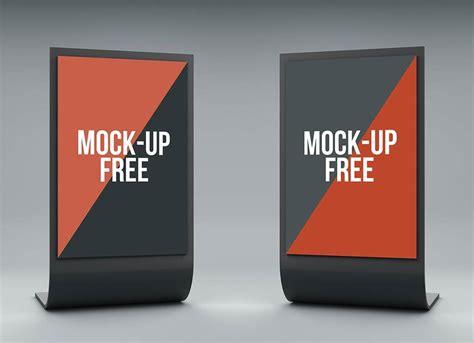Stand Display Mockup Mockupworld Digital Mock Up Templates