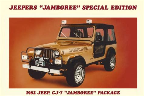 1982 jeep jamboree jamboree edition 1982 jeep cj7