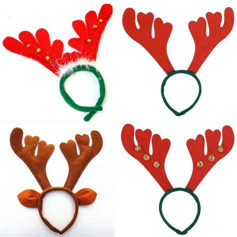christmas reindeer antlers on headband for christmas fancy