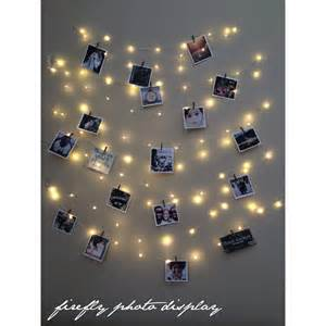 Display With Lights Lights Photo Display Picture Frame Hanging Lights