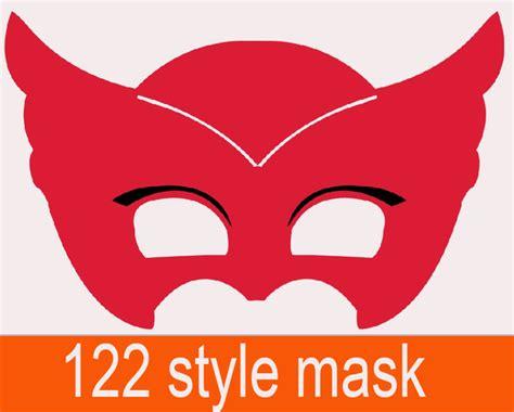 printable owlette mask moq 30pcs mask cat boy owlette gekko mask superman elsa