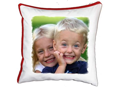 cuscino con foto cuscino quadrato personalizzato con foto 40x40