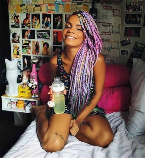 multi colored box braids 63 box braid pictures that ll help you choose your next
