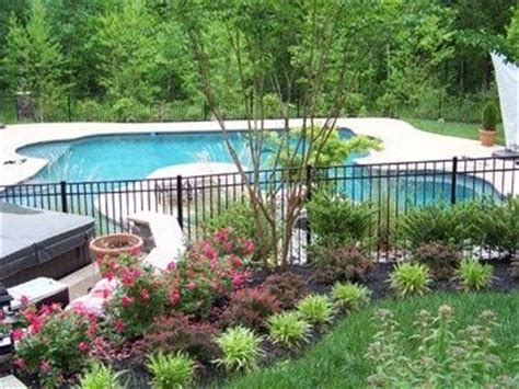 landscaping around pool 157 best pool fencing ideas images on pinterest garden