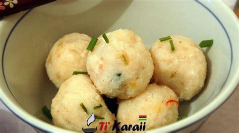 cuisine mauricienne recettes recette de cuisine mauricienne boulette de poisson chinois