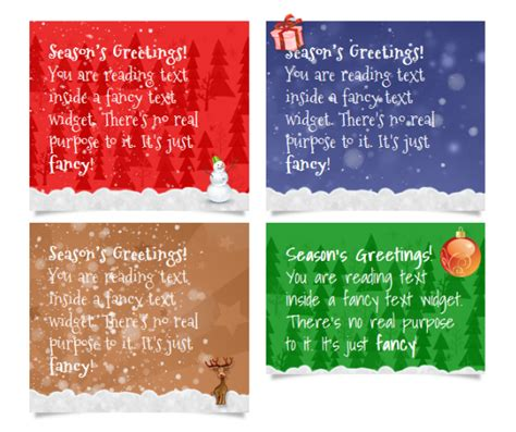 Text A Gift Card - text cards christmas greeting card text wblqual km creative