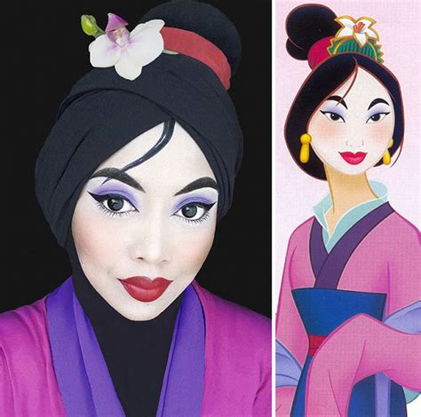 Princess Hijabb disney uses to turn herself into