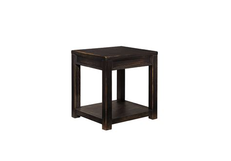Overstock End Table by Gavelston Rubbed Black End Table Overstock
