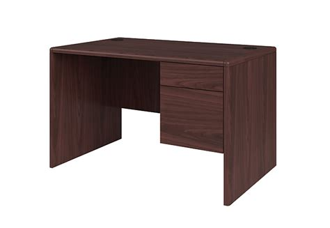 Hon Office Desks 10700 Series Small Office Desk H107885r Hon Office Furniture