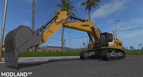Tp Big liebherr 956 v 1 0 mod farming simulator 17