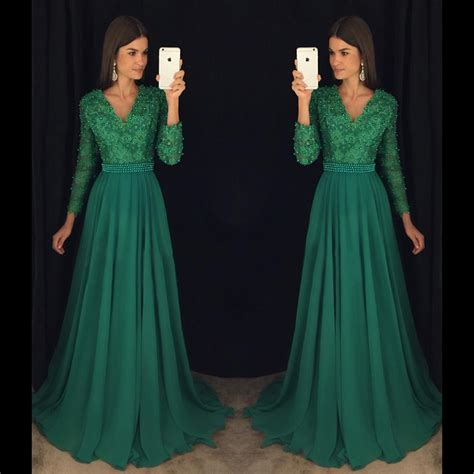 emerald green long sleeve dress dress greens picture more detailed picture about