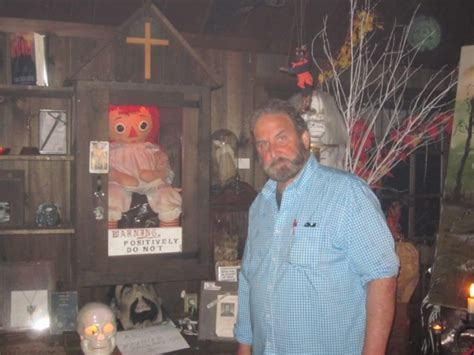 annabelle doll in museum s renowned demonologists invite to a