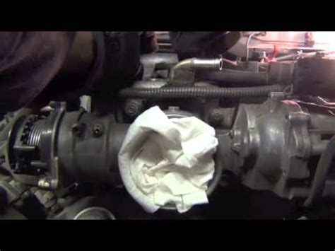 how do you remove an engine out of a 2012 bentley continental flying spur toyota land cruiser 99 starter location and intake removal youtube