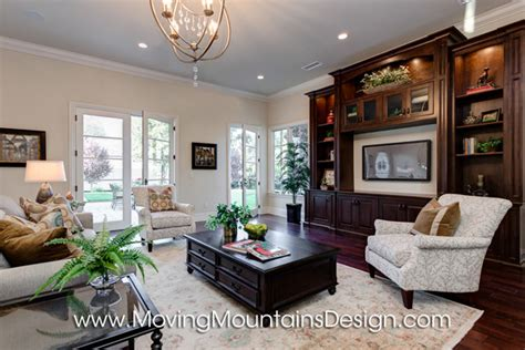 French Livingroom luxury home staging moving mountains design los
