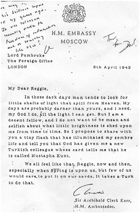 Us Embassy Moscow Letter letters of note we all feel like that now and then